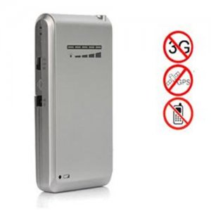 Signal blocker Cooloongup | Mini Portable Triple Frequency GPS Jammer With Built-in Antenna + Light Brown (GPS L1/L2/L5)