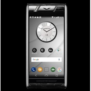 Vertu Aster Diamonds Black Alligator Clone Android 9.1 Snapdragon 821 4G LTE luxury Phone