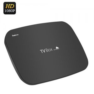 Android Dual Core TV Box - 1080p, AllWinner A20 Cortex 1GHz A7 Dual Core CPU, Wi-Fi, 1GB DDR3 RAM, 4GB Memory
