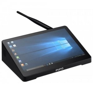 PIPO X10PRO Intel Cherry Trail Z8350 4GB DDR3L + 32GB ROM Mini PC - BLACK