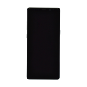 Samsung Galaxy Note 8 Display Assembly with Frame - Midnight Black (Premium)