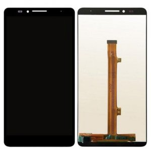 High Quality LCD Phone Touch Screen Replacement Digitizer Display Assembly Tool for Huawei Mate 7 - BLACK