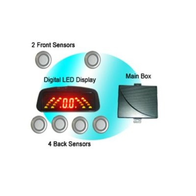 RD036C6 Rainbow LED Display Parking Sensor