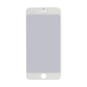 iPhone 6 Plus Glass Lens Screen, Frame, OCA and Polarizer Assembly (CPG) - White