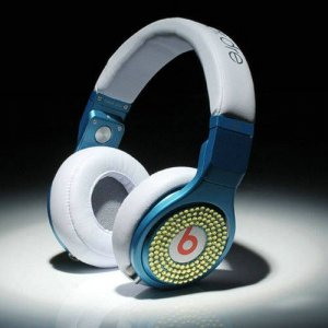 Beats By Dr Dre Pro High Performance Headphones diamond blue