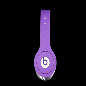 Beats By Dr Dre Solo HD High Definition On-Ear Purple Headphones