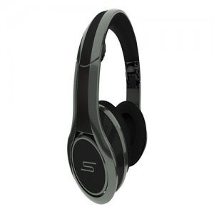 SMS Audio STREET by 50 Cent Over-Ear Wired DJ Headphone - City Gray