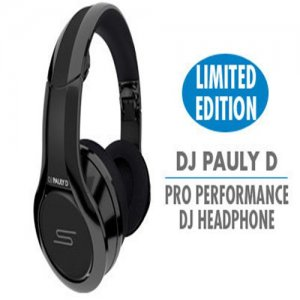 SMS Audio STREET by 50 Cent Over-Ear Wired DJ Pauly D Pro DJ Headphones