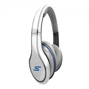 SMS Audio STREET by 50 Cent Wired Over-Ear Headphones - White