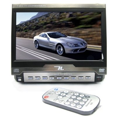 7 inch In Dash Car Video Monitor with TV Function