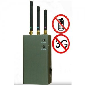 Cell phone blocker cheap , 5 High Power Antenna Phone Jammer & GPS Jammer