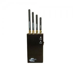 5-Band Portable WiFi Bluetooth Wireless Video Cell Phone Jammer