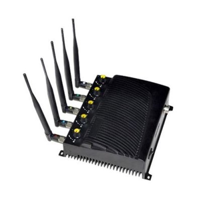 Cell phone jammer with remote - 5-Band Portable GPS & Cell Phone Signal Jammer