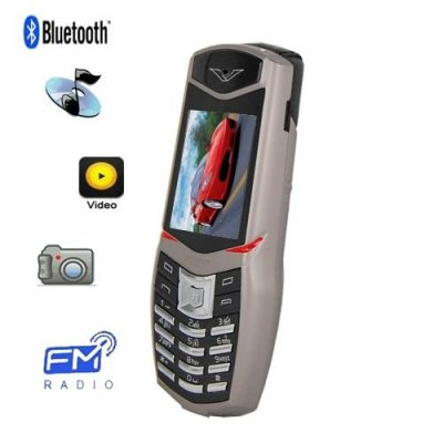 Vertu Ferrari Quadband Cell Phone with 2.0 Inch Screen and 1.3M Pixel Camera