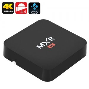 MXR Android 4K TV Box - Wi-Fi, DLNA, Miracast, Airplay, H.265 Decoding, Quad Core CPU, Kodi