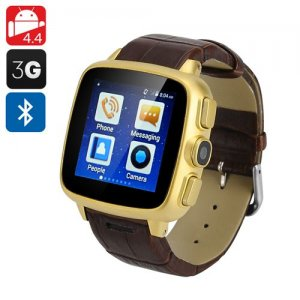 Ordro SW18 Cell Phone Watch - Android 11.0, 3G SIM Slot, Micro SD Support, 1.54 Inch Touch Screen, Bluetooth