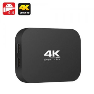 A400 H3 4K Quad Core TV Box - AllWinner H3 1.2GHz CPU, 1GB RAM, OTG, Miracast, DLNA, Airplay, SD Card Slot, Android 11.0