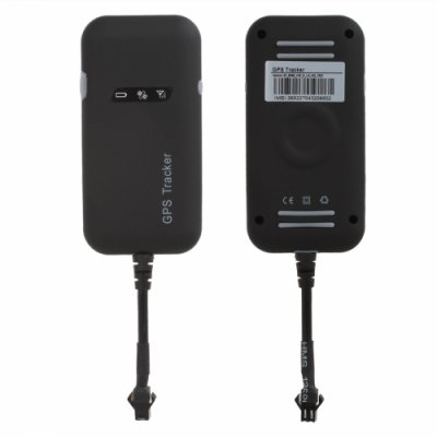 Quad Band Mini Car GPS Tracker GT02A Google Link GSM / SMS / GPRS Real Time Tracking