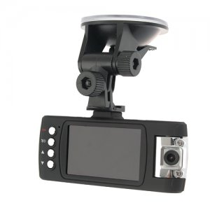 "2.7"" TFT Screen HD Double Lens True Dual 1080P Driving Recorder DVR"