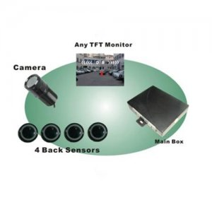 RD-078SC4 Video Parking Sensor With Camera