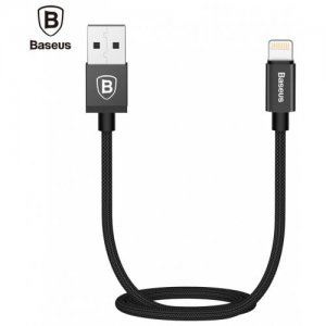 Baseus Antila Series Charging Cord for iPhone 8 - BLACK