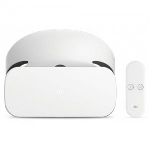 Original Xiaomi VR 3D Glasses with Remote Controller - WHITE