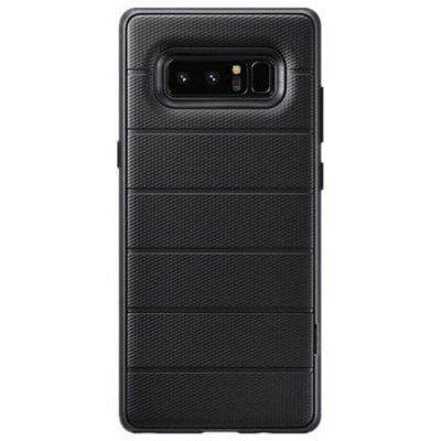 Cover Case for Samsung Galaxy Note 8 Heavy Duty Armor Holder Stand Shockproof - BLACK