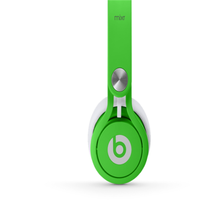Beats By Dr Dre Mixr Over-Ear Neon Green Headphones