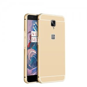 Metal Frame with Back Cover Case For OnePlus 3