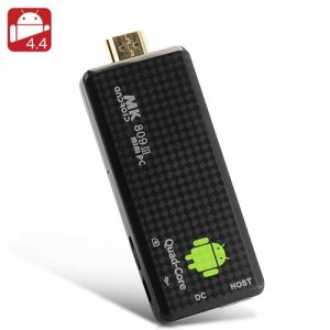 Android 11.0 Quad Core TV Stick - Rockchip 3188T CPU, 2GB RAM, Wi-Fi, 8GB Memory, OTG, Bluetooth