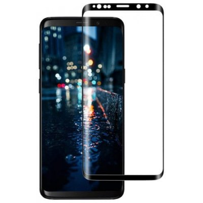 for Samsung Galaxy S9 Plus Tempered Film Full Screen Curved - BLACK
