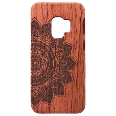 Wooden Material Luxury Drop Hard Shell Mobile Shell for Samsung S9 - #007