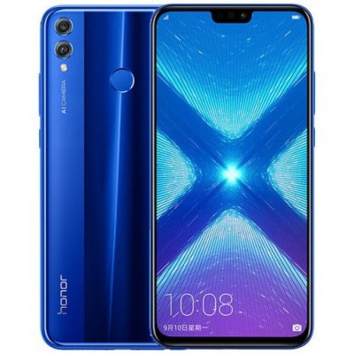 HUAWEI Honor 8X 4G Phablet English and Chinese Version - BLUE