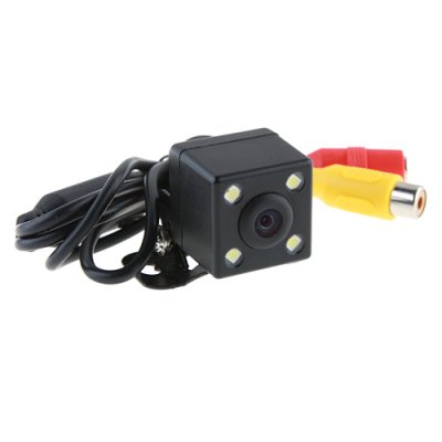 4 LED Waterproof Color CMD Rear View Backup Camera E314