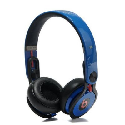 Beats By Dr Dre Mixr High Performance Headphones Blue