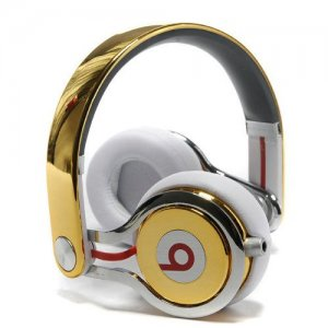 Beats By Dr Dre Mixr High Performance Headphones Gold
