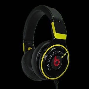 Beats By Dr Dre Pro High Performance Headphones Black Yellow