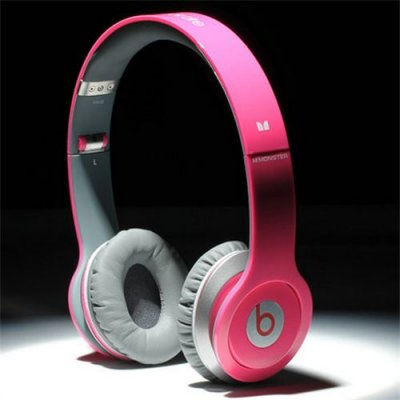 Beats By Dr Dre Solo HD High Performance Headphones Rose