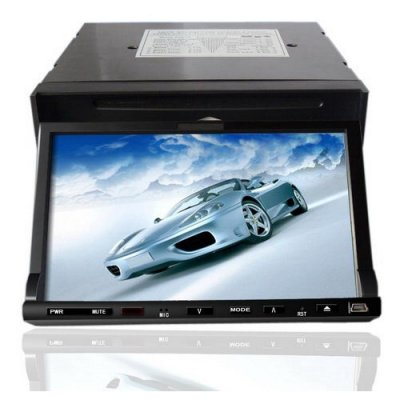 Remote Control 7 Inch TFT Video Screen Car DVD Player