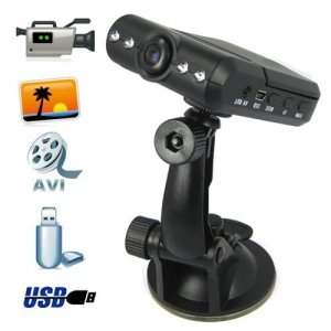 HD 720p Portable DVR with 2.5 inch TFT LCD Screen