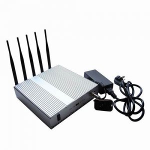 High Power 3G 4G LTE Cell Phone Jammer with Remote Control