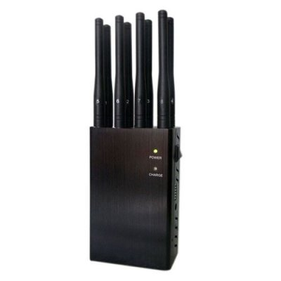 8 Antenna Handheld Jammers WiFi and 3G 4GLTE 4GWimax Phone Signal Jammer
