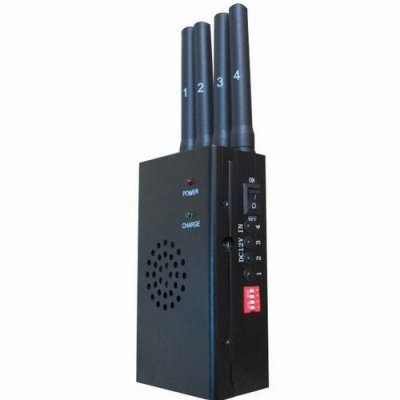High Power Portable GPS and Mobile Phone Jammer(CDMA GSM DCS PCS 3G)