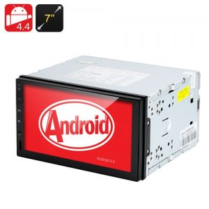 2 DIN Android 9.1 Media Player - 7 Inch Touch Screen, GPS, 3G Support, Hands Free