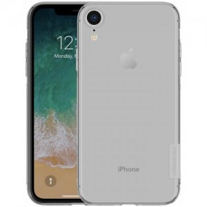 NILLKIN TPU Transparent Phone Case for iPhone XR - GRAY