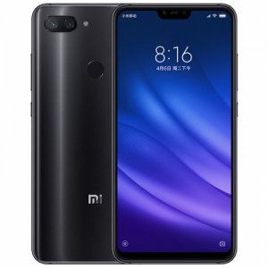 Xiaomi Mi 8 Lite 4G Phablet Global Version - BLACK