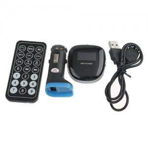 3 In 1 Multi-Function Car FM Transmitter+MP3 Player+ Car Charger Foldable USB Plug