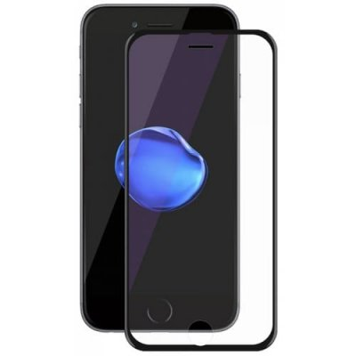 Hat - Prince TPU Soft Edge 6D Tempered Glass Screen Protector Full Coverage for iPhone 6 - 6S - BLACK