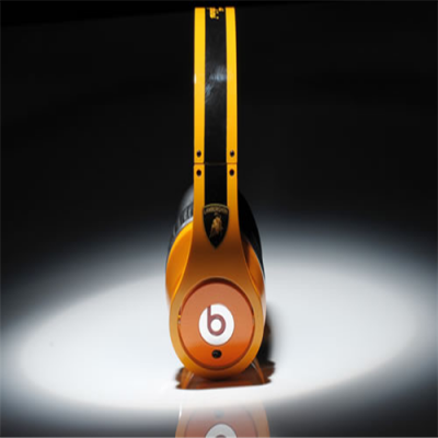 Beats By Dr Dre Studio Orange High Performance Lamborghini Racing Car Edition Over-Ear Headphones