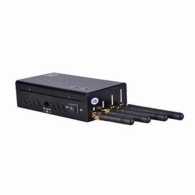 Cell phone and wifi jammer | 16 Watt Wireless Signal Jammer Device Adjustable Frequency Easy Installation
